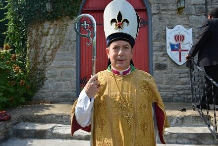 Presiding Bishop Bill Sloane